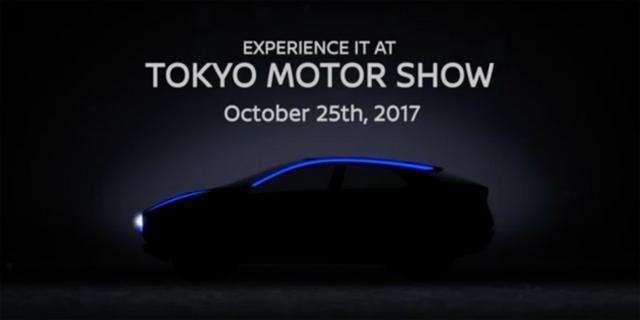 东京车展首发 日产智能观点车预告图