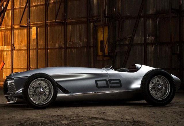 电动赛车玩复古 英菲尼迪Prototype 9观点车