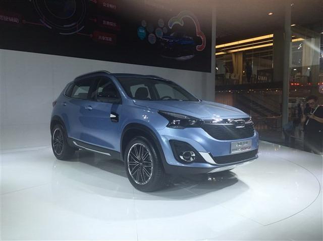 或广州车展上市 曝观致Model Young SUV设置