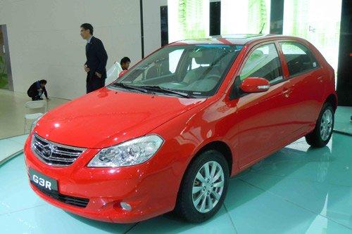 比亚迪G3R新一代大两厢 广州车展全球首发