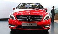 奔驰:全新奔驰B级使用全新4缸汽油发动机采用第三代直喷技术