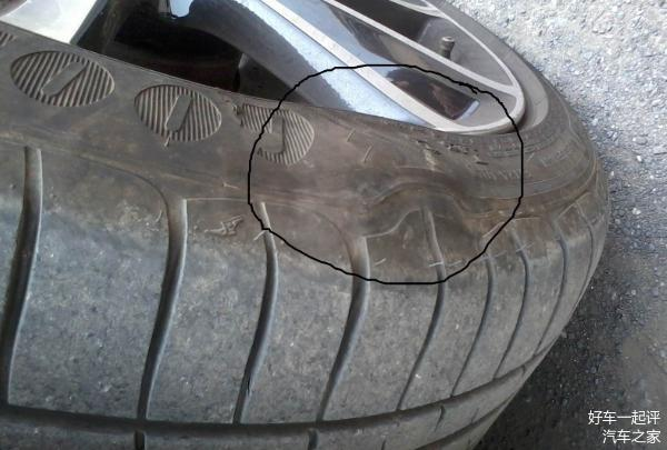 开车前检查轮胎 出现3种情况 第1件事就是换胎