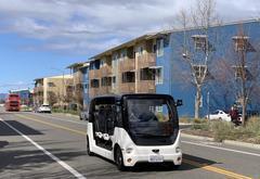 上汽在加州大学戴维斯分校展示自动驾驶电动车 收集乘客反应数据