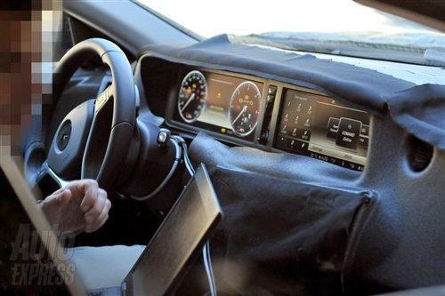 奔驰新S级路试谍照 搭新6D-Vision技术