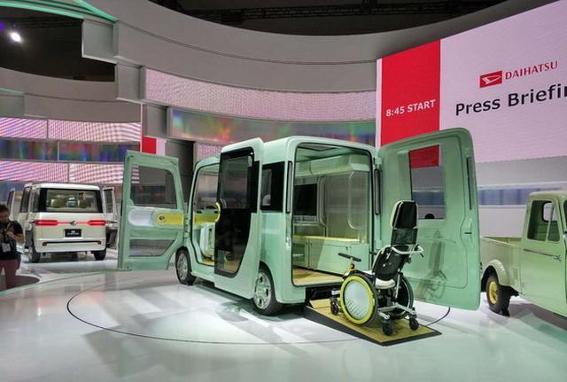 造型极具未来感 大发DN U-Space概念车亮相