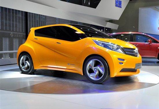启辰Viwa概念车发布 全新的外形更加时尚