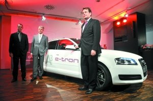 奥迪A3 e-tron亮相 2020年产电动车10万辆