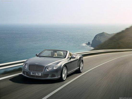 宾利发布改款欧陆GTC敞篷车 法兰克福首发