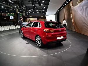 现代全新i30旅行版官图 日内瓦车展亮相