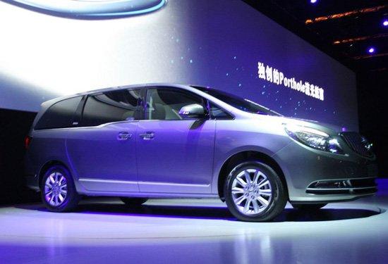 上海通用别克新GL8售价公布 售28.8-38.8万