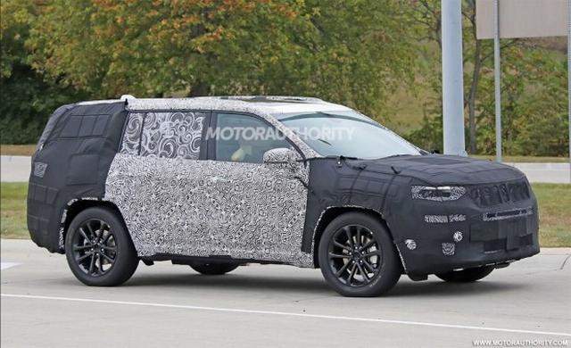 Jeep全新7座SUV谍照 将于2018年表态