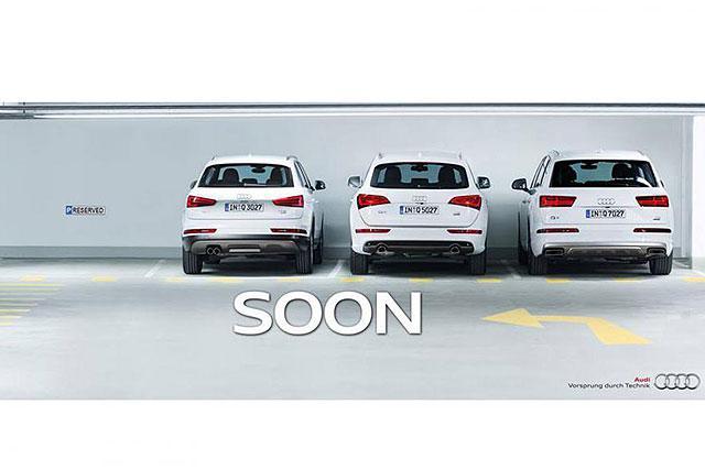 奥迪全新Q2预告图发布 确认日内瓦车展登场