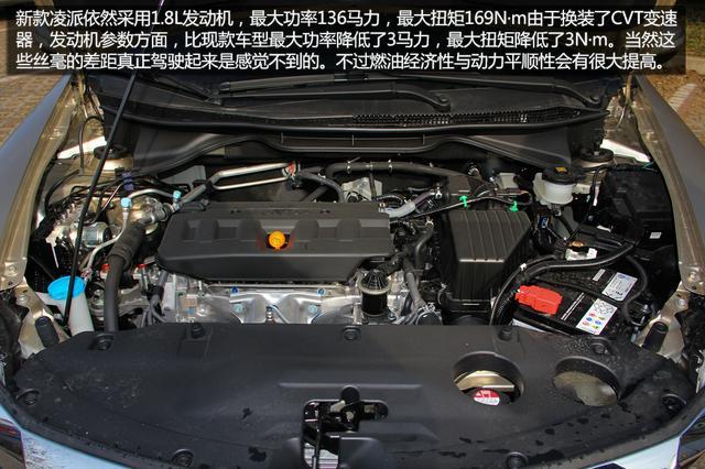 新款凌派购车手册  推荐1.8L CVT领先版
