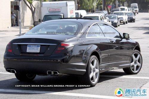 2011款奔驰S63 AMG轿跑车谍照曝光