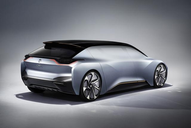 蔚来EVE概念车首发 下月上海车展正式亮相