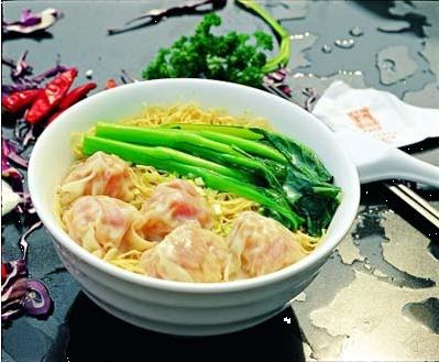广州名吃:云吞面(图)