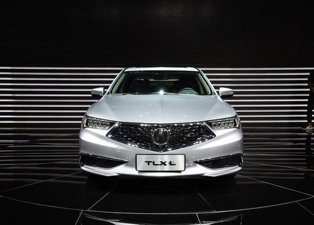 轴距增125mm 广汽讴歌TLX-L 11月10日上市