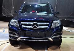 奔驰GLK 200成都车展上市 售价37.8万元