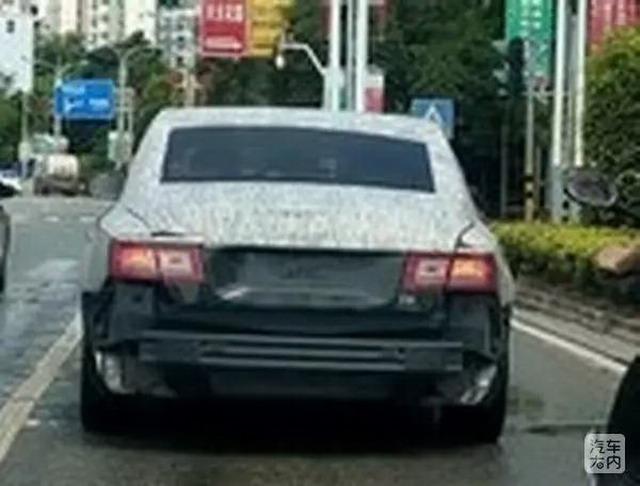 """红旗""""古斯特""""谍照曝光 加入豪车争取战"""