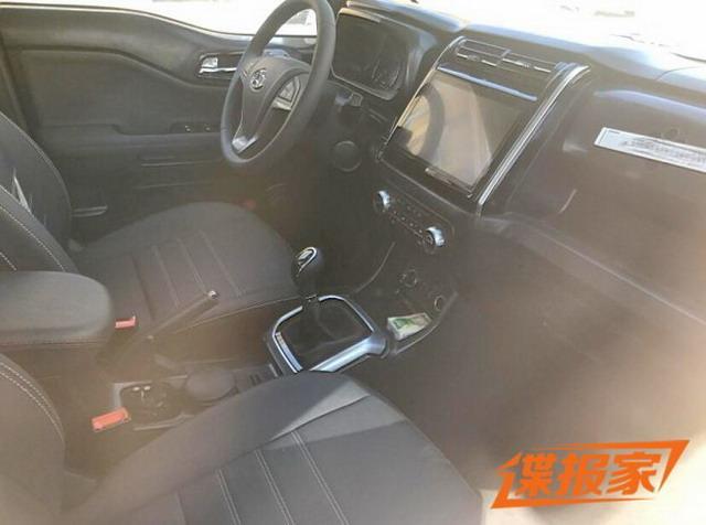 紧凑型SUV中的硬汉 长安欧尚全新SUV谍照曝光