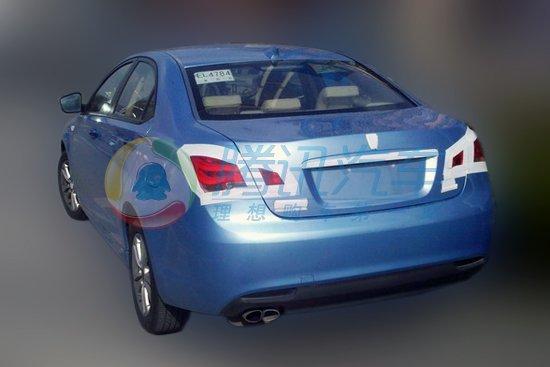 荣威550混合动力车型高清图片