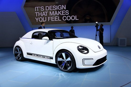 大众E-Bugster概念车北美车展全球首发