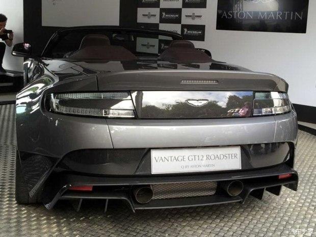 阿斯顿·马丁 V12 Vantage 2016款 6.0L GT12 roadster