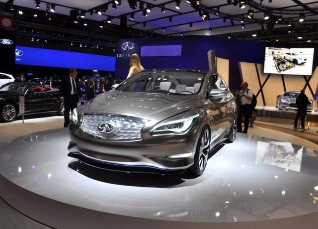 最美英菲尼迪将亮相 电动观点车2018年亮相