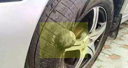 轮胎老化后,大家知道这个位置会先开裂吗?
