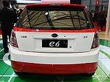 比亚迪e6车展实拍