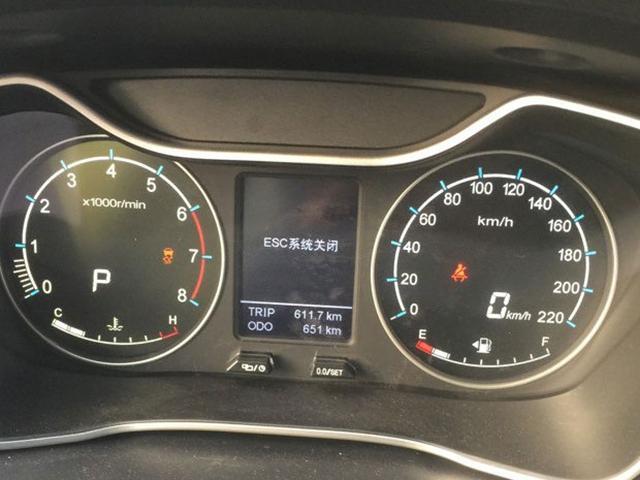 吉利新款GX7实车曝光 有望改名为豪情X6