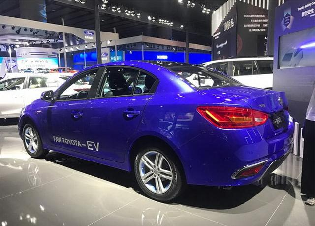 基于骏派A70E打造 一汽丰田公布全新电动车