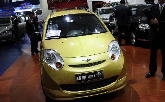 上海车展新动力聚集 自主领衔纯电动轿车