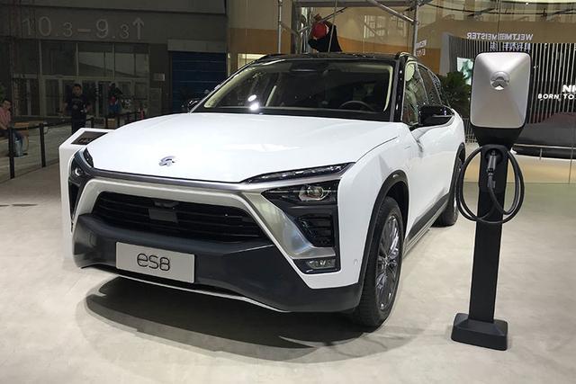 2018广州车展腾讯探营:蔚来ES8基准版/6座版