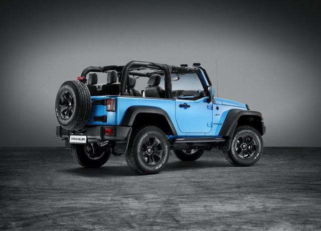Jeep牧马人Mopar全球限量典藏版 即将上市