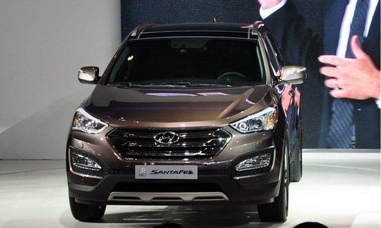新一代Santa Fe车展发布 或将10月正式引入