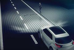 法雷奥推出外饰车灯系统 投影技术助力车间通信