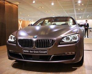 全新BMW 6系四门轿跑车展上首发