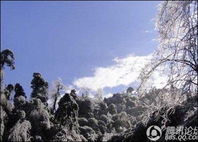 冬日游衡山赏雪韵