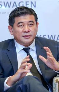 大众汽车集团全球执行副总裁、大众汽车集团(中国)集团企业战略兼销售及市场执行副总裁苏伟铭