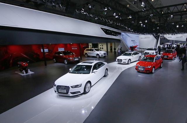 一汽-大众奥迪空前规模登陆2014成都车展