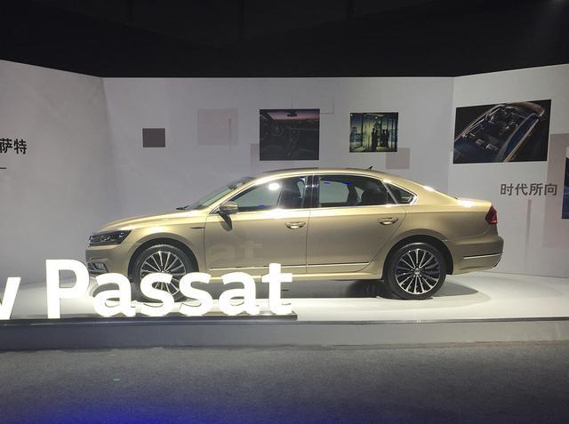 上海大众新款帕萨特上市 售18.39万元起