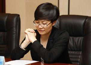 腾讯公司副总裁陈菊红致词