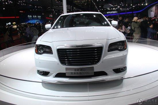 克莱斯勒携全新300系列与大捷龙亮相车展