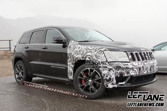 [新车谍报]Jeep改款大切诺基将搭8AT变速器