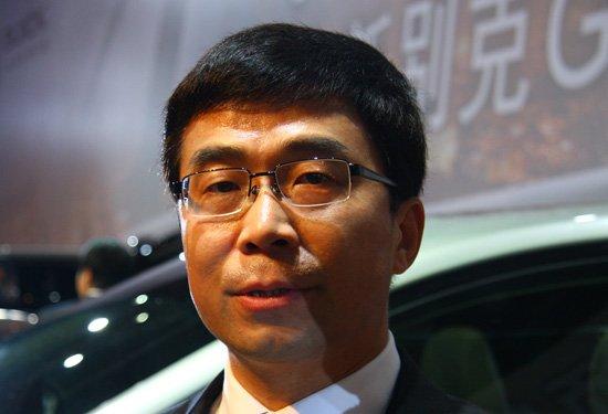 发布会后上海通用总经理丁磊接受腾讯汽车采访