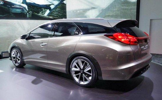 已经发布的本田思域旅行版概念车-思域旅行版将配新悬挂 明年上市