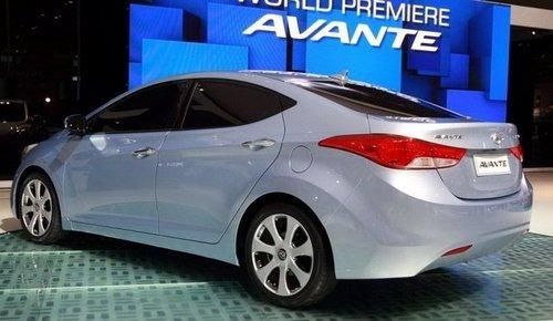索纳塔/伊兰特换代 现代明年推两款新车