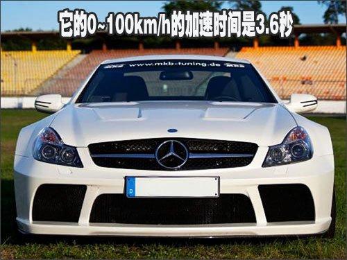 马力赶超布加迪 改装1015匹奔驰SL65AMG