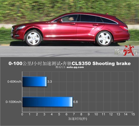 腾讯评测奔驰CLS350 Shooting brake 猎艳